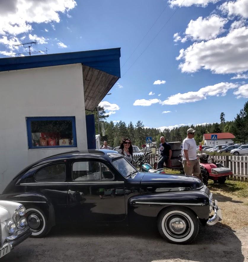 god gammal bil