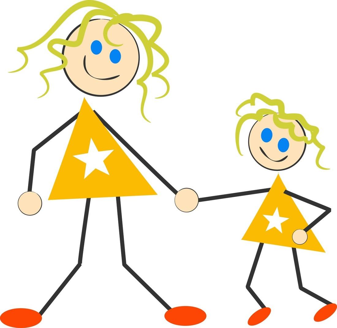 mor og datter stjerner