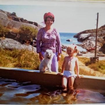 mamma og jeg og maika